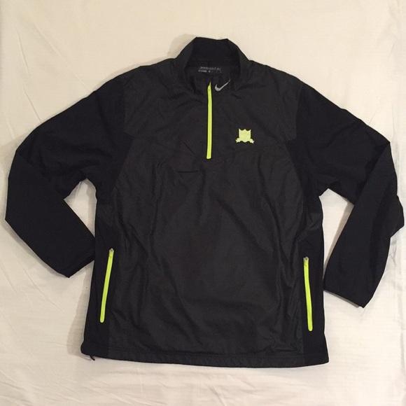 ead400b2b90d5 Nike Golf Waterproof/Windproof 1/4 Zip Sweater XL
